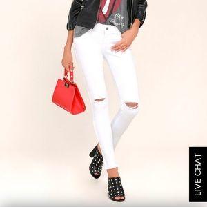 Lulu's Distressed Skinny Jeans 26